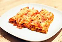 cannelloni au boeuf haché et légumes