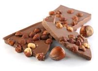 calories chocolat au lait et noisettes. Black Bedroom Furniture Sets. Home Design Ideas
