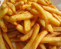pommes frites kcal