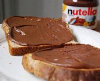 Calorie Cuillere Cafe Nutella